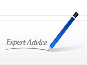 expert advice message illustration design
